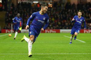 Eden Hazard lập cú đúp, Chelsea thắng kịch tính Watford