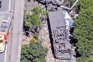 Tai nạn xe buýt nghiêm trọng tại Colombia