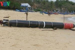 Bộ Quốc Phòng xác nhận vật thể lạ tại Phú Yên là ngư lôi bắn tập