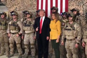 TT Trump đăng video làm lộ đặc nhiệm SEAL hoạt động mật ở Iraq