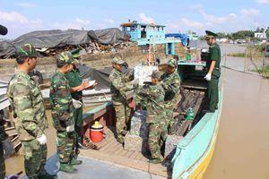 Ngăn chặn buôn lậu phế liệu qua biên giới