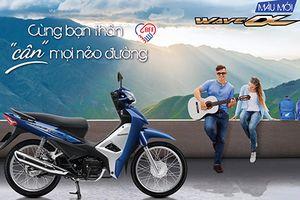 Honda Wave Alpha 110 mới giá 17,79 triệu tại Việt Nam