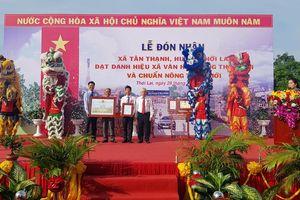 Cần Thơ: Công nhận Tân Thạnh là xã đạt chuẩn nông thôn mới