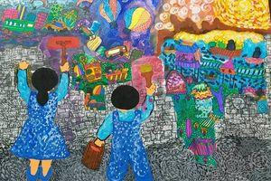 Kết quả cuộc thi vẽ tranh thiếu nhi 'Vì môi trường tương lai' lần thứ nhất