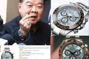 Dừng điều tra Phó thủ tướng Thái Lan vì dùng đồng hồ xa xỉ