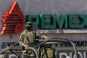 Mexico huy động quân đội tham gia chống nạn trộm cắp nhiên liệu