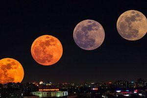 Siêu trăng máu sẽ xuất hiện vào đầu năm 2019