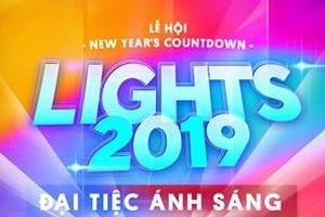 Đại tiệc ánh sáng chào năm mới trên phố Nguyễn Huệ