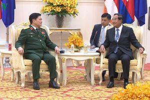 Hợp tác quốc phòng - trụ cột trong quan hệ Việt Nam-Campuchia