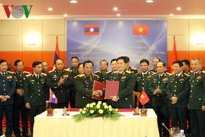 Việt Nam - Lào ký kết Kế hoạch Hợp tác Quốc phòng năm 2019