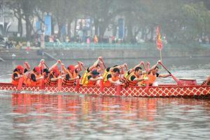 Lễ hội bơi chải thuyền rồng lọt Top 10 sự kiện văn hóa, thể thao Hà Nội 2018
