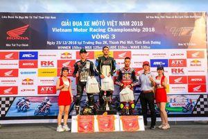 Giải đua mô tô VMRC 2018 kết thúc: Chân dung 4 nhà vô địch