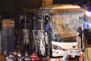 Hiện trường đánh bom ở Ai Cập làm 4 người Việt thiệt mạng
