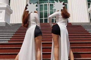 Trường yêu cầu hai nữ sinh chụp kỷ yếu phản cảm viết tường trình