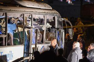 Ai Cập: Vụ đánh bom xe chở du khách Việt là hành động khủng bố