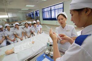 Học lực loại giỏi mới được xét tuyển vào nhóm ngành sức khỏe