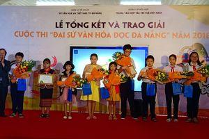 Trao giải 'Đại sứ văn hóa đọc năm 2018'