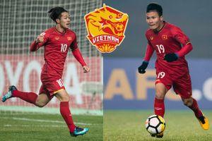 Công Phượng, Quang Hải mặc áo số 10, 19 quen thuộc ở U.23 châu Á đá Asian Cup 2019