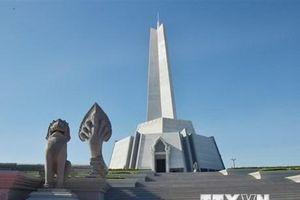 Chính phủ Campuchia khánh thành quần thể Tượng đài Thắng-Thắng