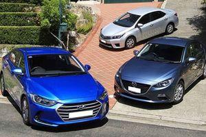 10 mẫu xe ăn khách: Toyota, Honda 'thua' Trường Hải và Thành Công