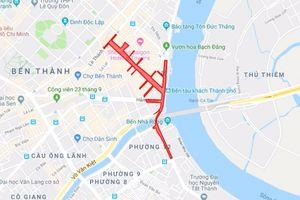 TP HCM: Cấm nhiều tuyến đường phục vụ các hoạt động dịp Tết Dương lịch 2019