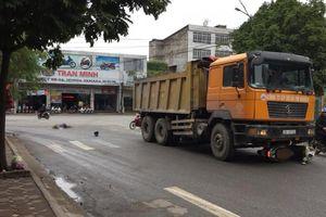 Thái Nguyên: Va chạm với xe tải, người phụ nữ bị cán tử vong thương tâm