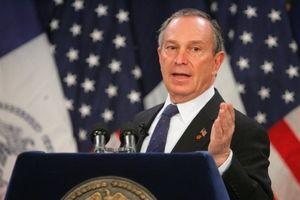 Tỷ phú Bloomberg sẽ chi gấp đôi Tổng thống Trump nếu chạy đua vào Nhà Trắng