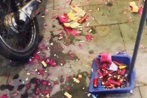 Đốt pháo trong đám cưới, 4 nam thanh niên bị khởi tố