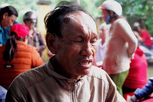 Vụ lở núi ở Khánh Hòa: Đào bới đất đá tìm vợ, con trong vô vọng