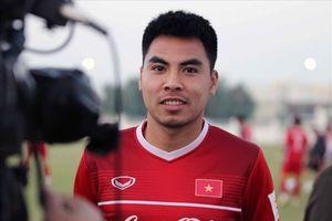 Tiền vệ Phạm Đức Huy: 'Không có áp lực với triết lí của thầy Park'