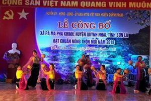 Xã vùng nước nổi Pá Ma Pha Khinh đạt chuẩn nông thôn mới