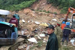 Sạt lở núi ở Khánh Hòa, 3 người bị tử vong