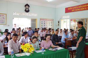 BĐBP Bình Thuận tuyên truyền ngăn chặn tàu cá vi phạm vùng biển nước ngoài