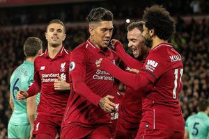 Bộ ba tấn công đồng loạt 'nổ súng', Liverpool vùi dập Arsenal