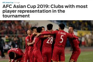 Top CLB đóng góp nhiều tuyển thủ cho Asian Cup