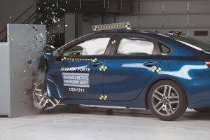 Kia Cerato 2019 được thử nghiệm an toàn thế nào?