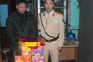 Bắc Giang: Cận Tết bắt 34 kg pháo lậu