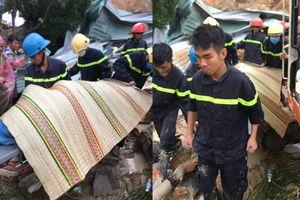 Sạt lở núi, 3 người bị vùi lấp ở Khánh Hòa: Khẩn trương di dời các hộ dân còn lại