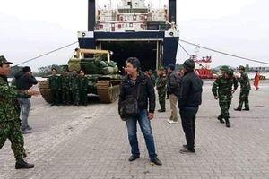 Nóng: Việt Nam bắt đầu tiếp nhận xe tăng T-90?
