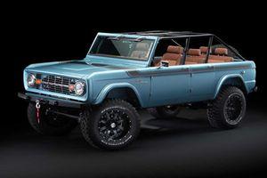 'Xế cụ' Ford Bronco 1966 mạnh 670 mã lực giá 5,8 tỷ