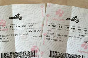 Xổ số Vietlott: Xuất hiện chủ nhân của giải Jackpot Mega 6/45 hơn 26 tỷ?