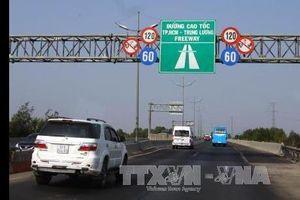 Vì sao cao tốc Tp. Hồ Chí Minh-Trung Lương tạm dừng thu phí từ 1/1/2019
