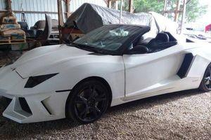 Chế Lamborghini Aventador từ ô tô cũ, chủ xe rao bán hơn 500 triệu đồng