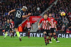 Hạ Southampton 3-1, Man City trở lại ngôi nhì bảng