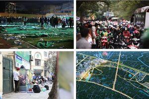 Tin tức Hà Nội 24h: Người dân tay xách nách mang, ùn ùn đổ về thủ đô
