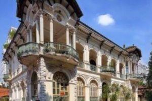 Lộ diện hình hài biệt thự cổ 35 triệu USD ở Sài Gòn sau trùng tu
