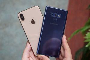 Apple và Samsung thống trị thị phần bán smartphone cao cấp