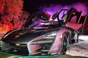 Siêu xe triệu đô cháy rụi trong đêm giao thừa