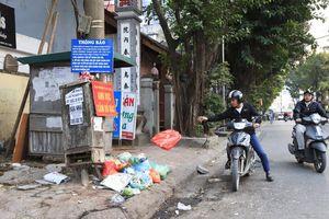 Đổ rác đúng giờ, đúng nơi quy định