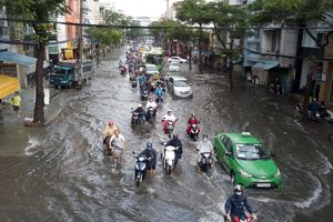 Sài Gòn có nguy cơ ngập vào Tết Kỷ Hợi 2019 do triều cường